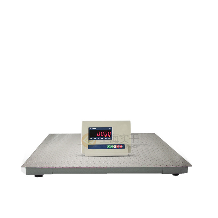 仓储用地磅电子秤 带打印智能电子磅秤