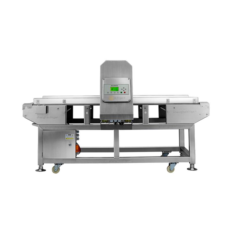 <b>肉制品金属检测机,推板式剔除金属探测仪</b>