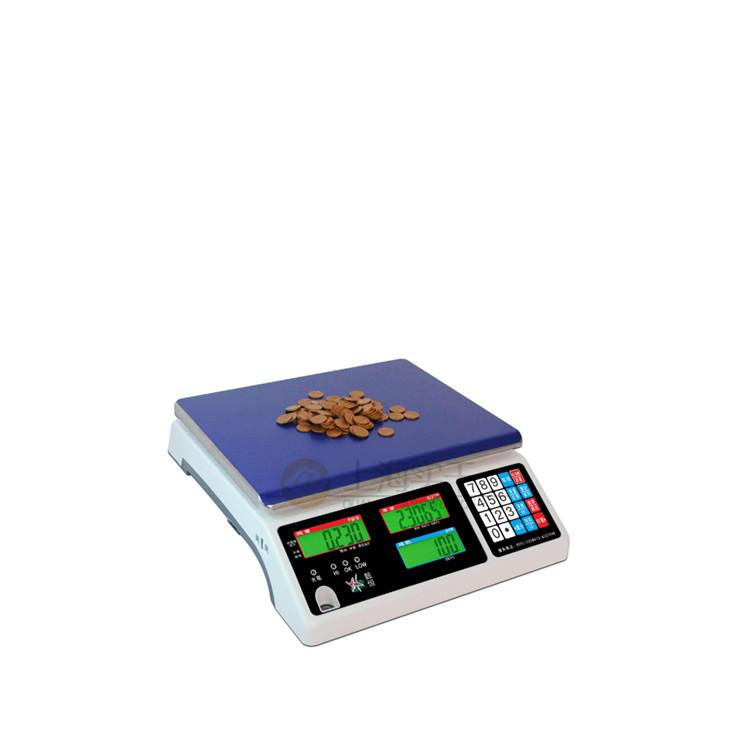 上海高精度工业计重桌秤 计数称重计价桌秤